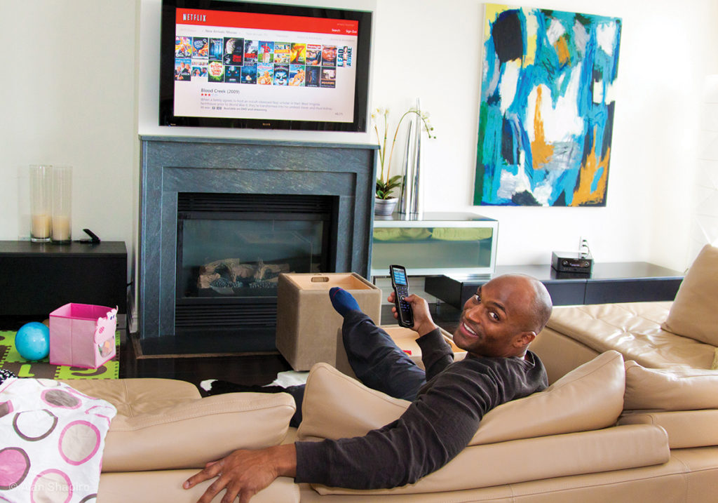 Inside Former New York Giant Amani Toomer's $50K Home Theater