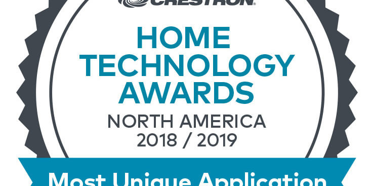 CRESTRON HOME TECHNOLOGY AWARD FOR MOST UNIQUE APPLICATION